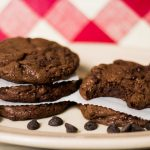 Einkorn Flour Double Chocolate Chip Cookies